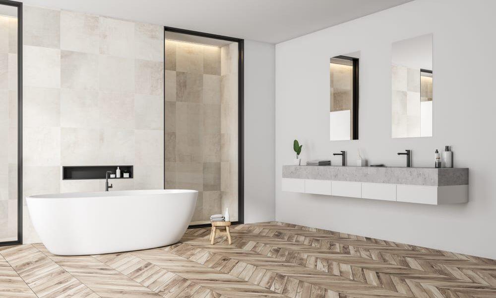 Mosaïque sol et mur : Appropriée à une cuisine ou salle de bain ?